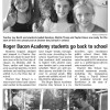Brunswick Beacon: RBA Students Go Back to School