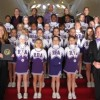 PR: The Roger Bacon Academy cheer squad gets ovations by both the NC House of Representatives and the Senate