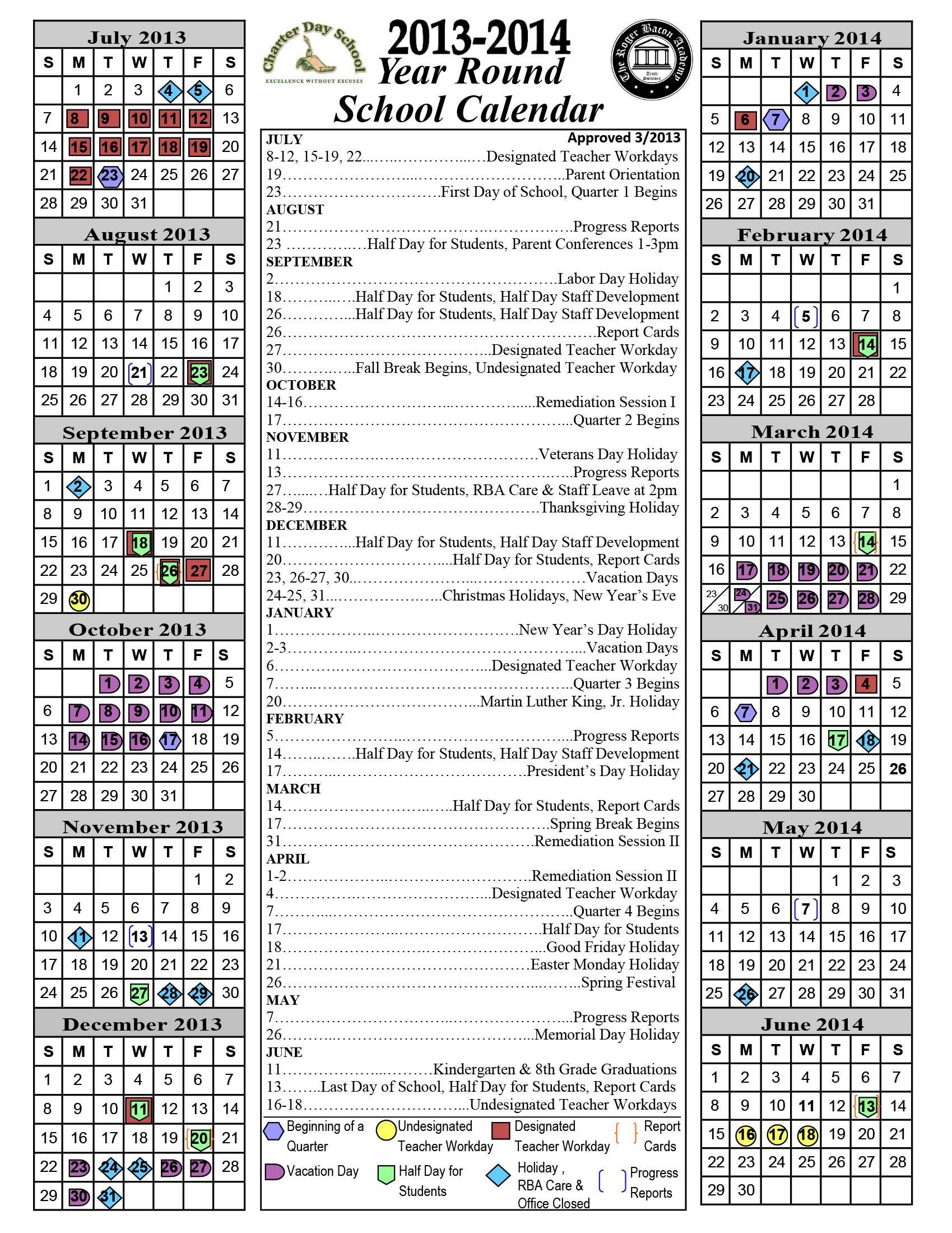 Columbus Day 2013 Calendar