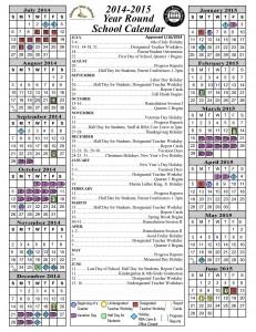 2014-15 Academic Calendar CDS-0140116