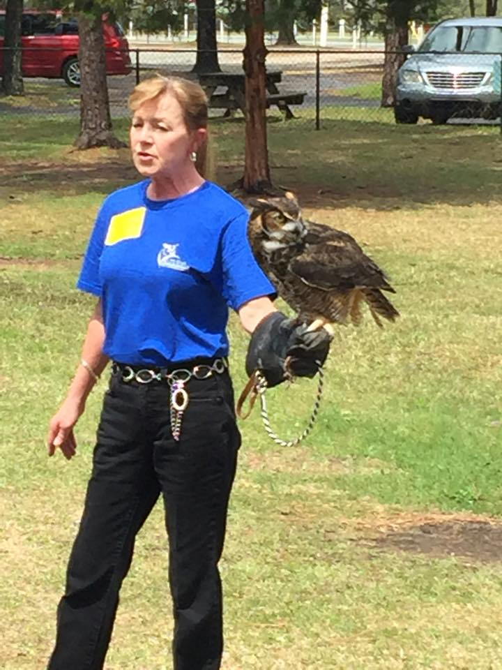 Anne Francione of the Cape Fear Raptor Center discusses the medieval practice of falconry.