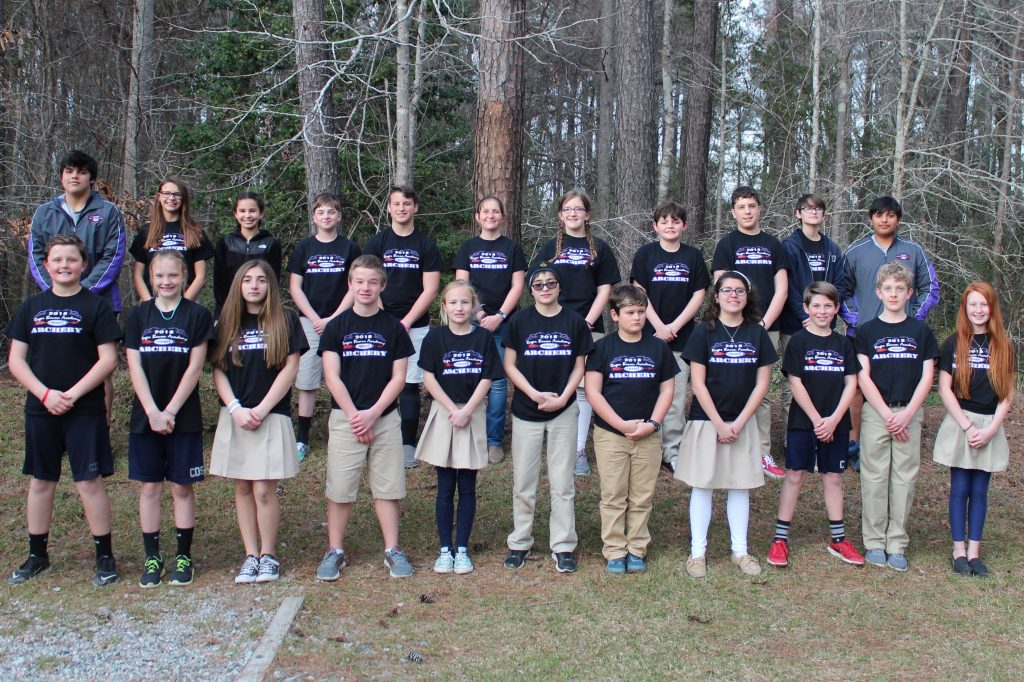 16afd54865 For the ninth consecutive year Charter Day School has won the North  Carolina Middle School Archery State Championship. Eighth grade student  Rachel Kemp (top ...