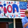 "Middle School ""Election Day"" features speeches from student candidates, Brunswick dignitaries"
