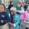 Charter Day Students Keep Learning Despite Cold!