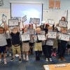 Charter Day School Kindergarteners Celebrate Learning to Read